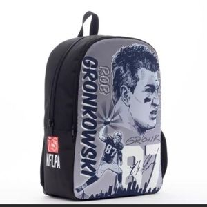 NWT New England Patriots Backpack Rob Gronkowski